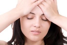 hoofdpijn linkeroog
