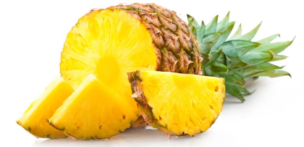 ananas eten afvallen