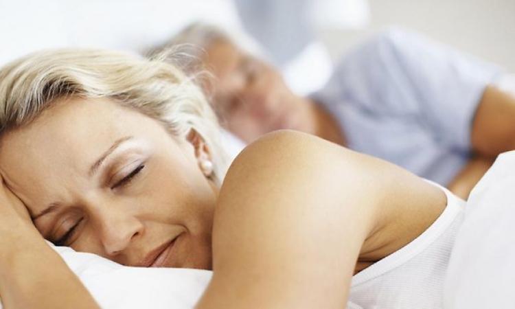 afvallen door slapen