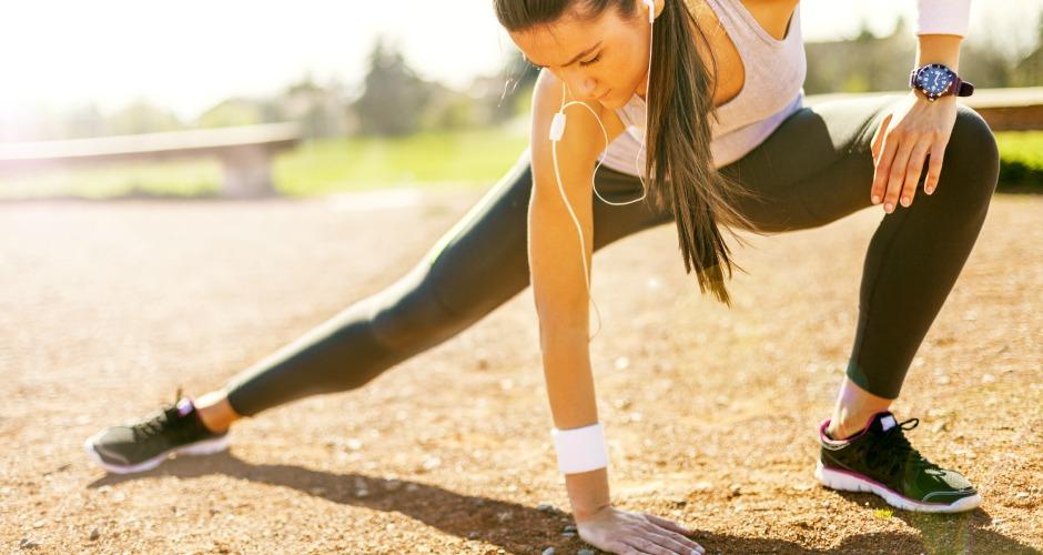 zwanger en afvallen door sporten