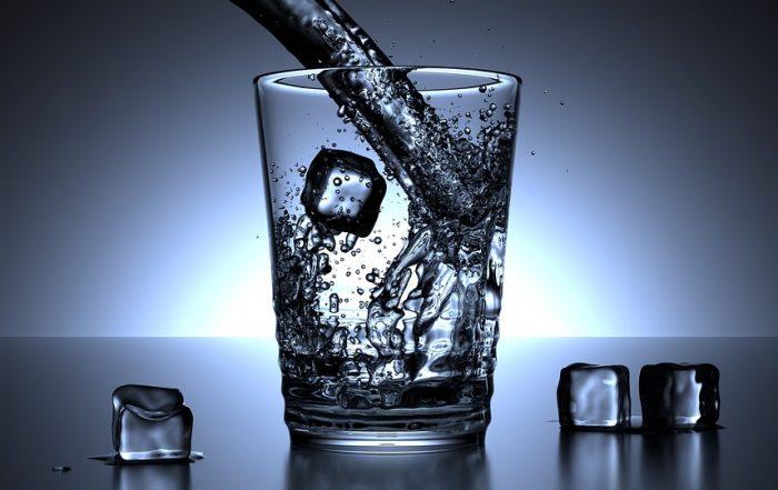 Te weinig water drinken