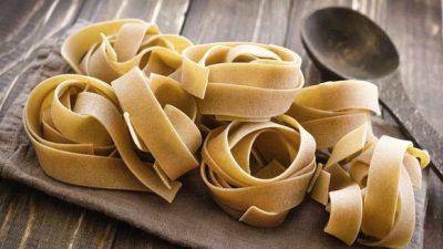 Pasta met veel koolhydraten