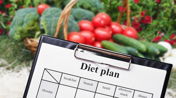 makkelijk dieet schema