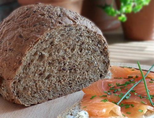 Koolhydraatarm brood doet je snel afvallen en maak je makkelijk zelf