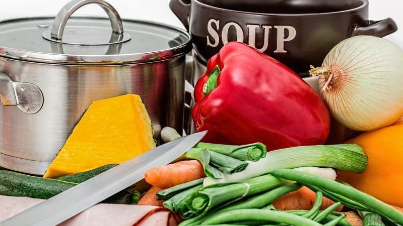 Weekmenu soep dieet