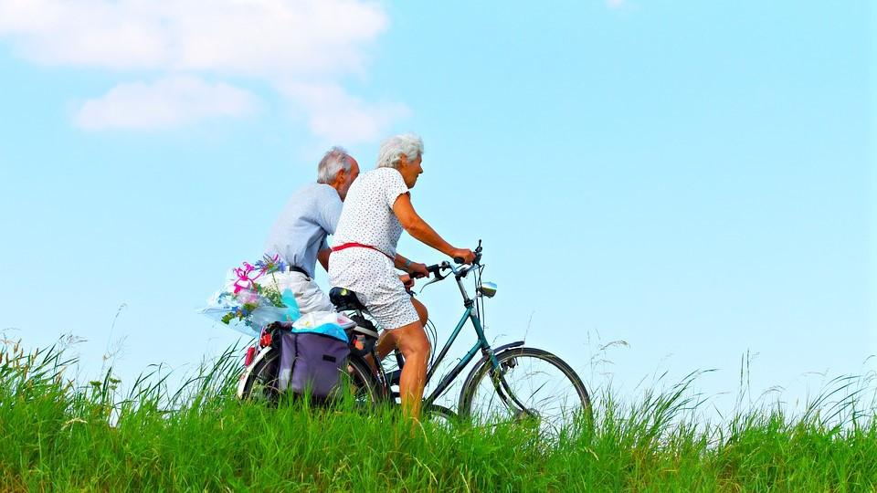 Afvallen met fietsen