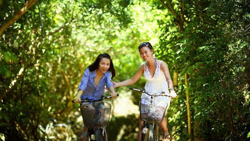 Vermageren met fietsen