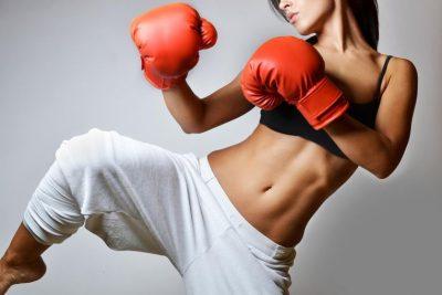 Afvallen met kickboksen