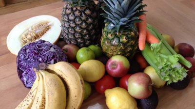 Alleen groenten en fruit eten