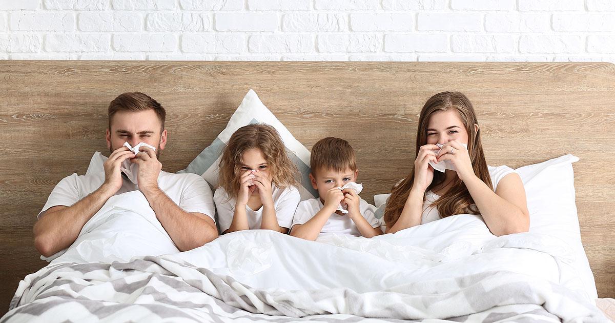 Hoe besmetting griep voorkomen?